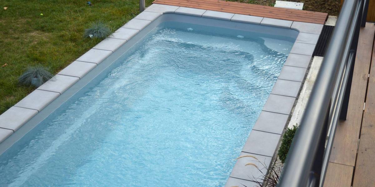 Couloir de nage Piscine France Piscines Composites
