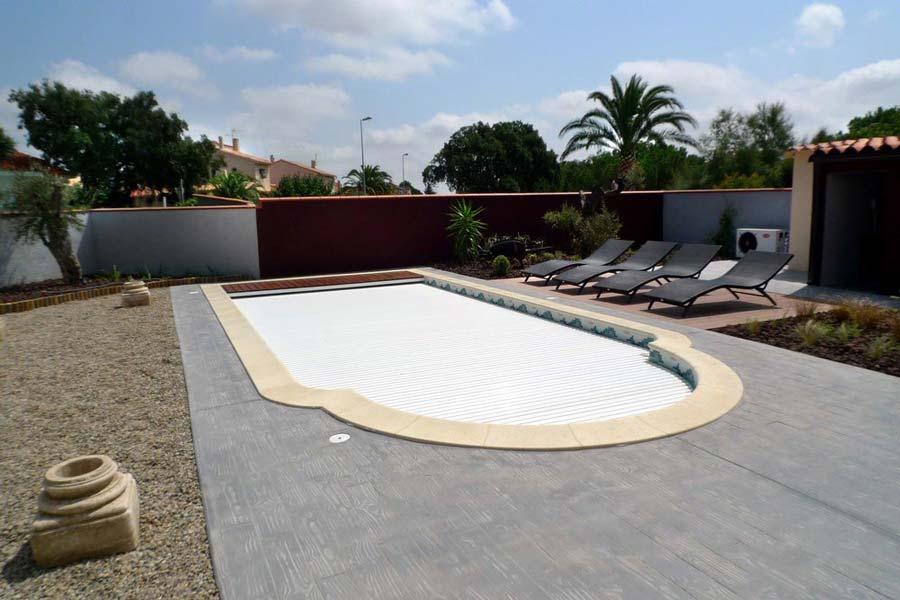 Couverture piscine Bali Mediester