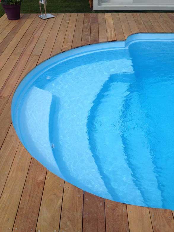 Barbarde piscine fond plat mediester
