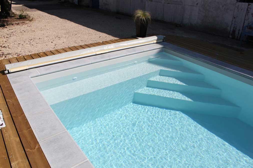 Paradise piscine fond plat poitiers